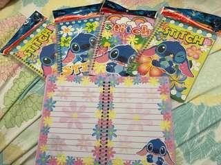 Disney Stitch 簿 內頁彩色 史迪仔