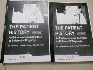 The patient history