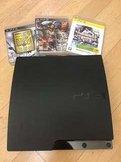 PlayStation 3 + three games!!!