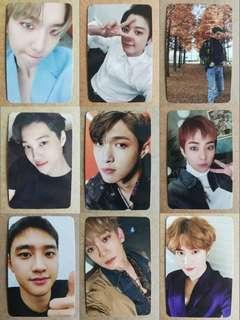 RUSH ORDER - EXO DMUMT Vivace ver Photocard Full Set