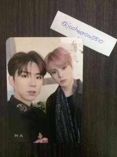[WTS] MONSTA X Are You There KIHYUN MINHYUK UNIT PHOTOCARD