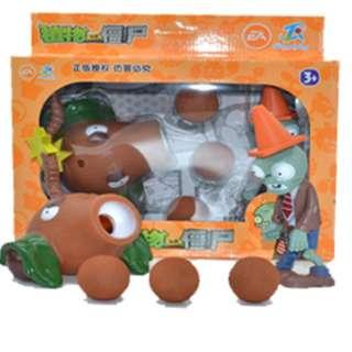 - RESTOCKING - Plants vs Zombies - Coconut Cannon Shooter Popper