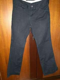 Banana Republic Dark Blue Bootcut Chinos