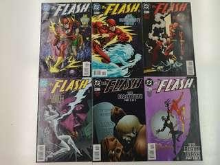 Flash (1987 2nd Series) The Black Flash Comics Set
