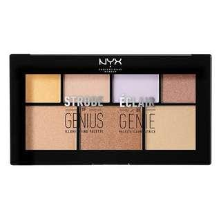 NYX Highlighter Strobe of Genius Illuminating Palette