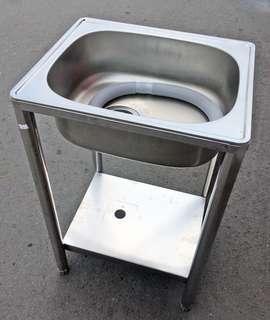 全新不鏽鋼洗手台/洗手槽/洗碗槽/水槽