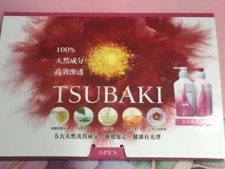Tsubaki  sample ~草本豐盈系列 洗髮露 及護髮素各 12ml