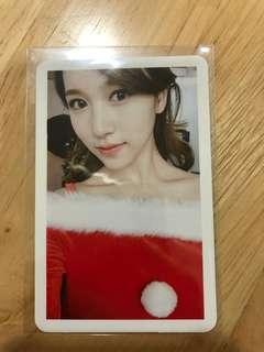 (WTS) Twice Mina Christmas Selfie