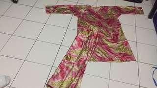 Baju Kurung saiz xl ukuran bahu 17.5