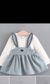 Bunny Dress 9-12