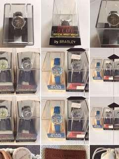 STAR WARS MANUAL WINDING WATCH COLLECTION