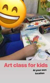 Art class at your own location!