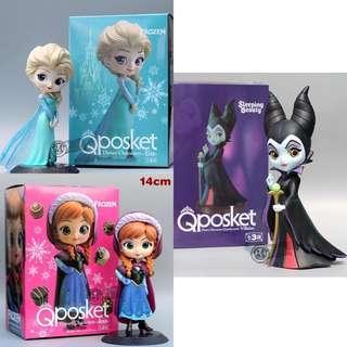 Qposket Character Disney Frozen Maleficent Figurine