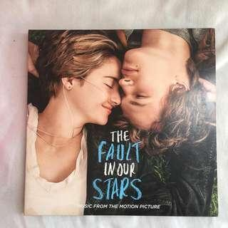 KASET VINYL THE FAULT IN OUR STAR