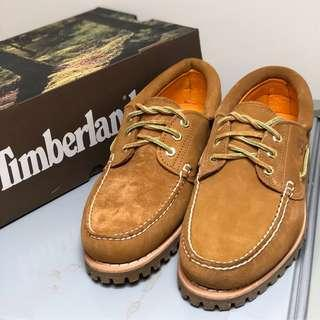 Engineered garments x timberland boat shoes