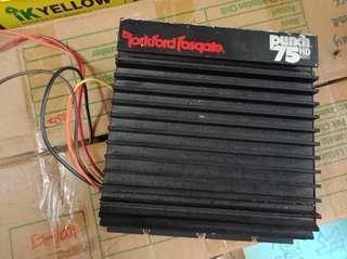 Rockford Fosgate 2ch amp