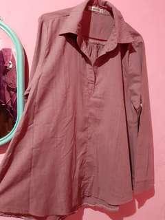 Blouse Mayoutfit Warna Thulian Pink