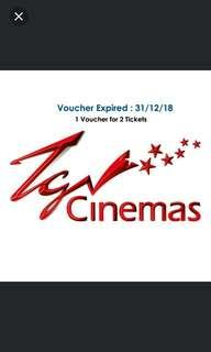 TGV CINEMAS TICKET