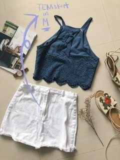 TEM White Skirt