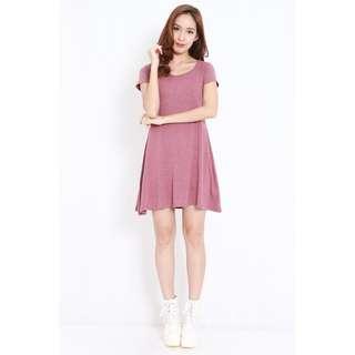 🚚 BN Carrislabelle Babydoll Skater Dress in Pink