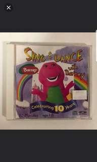 Sing & Dance with Barney VCD