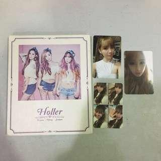 wts tts holler album and photocards