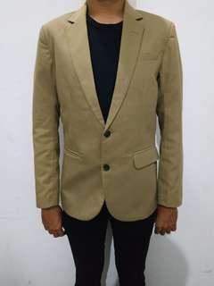 Jas / Blazer Wood Original Size M Slim Fit British Khaki