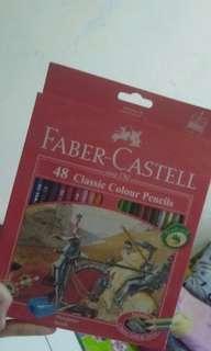 FABER CASTELL PENSIL WARNA 48 CLASSIC
