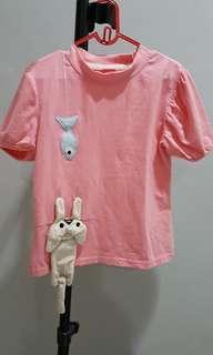 Cute 3D korea shirt