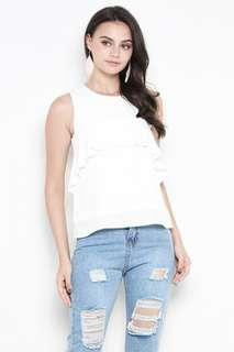 BNWT SSD Clover Top White XS