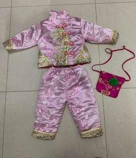 女童新年套裝