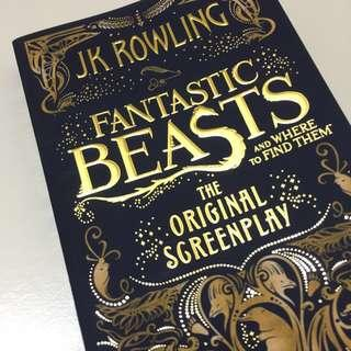 J.K.Rowling - Fantastic Beasts and Where to Find Them