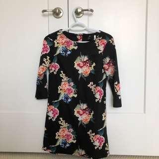 XS Dress Floral