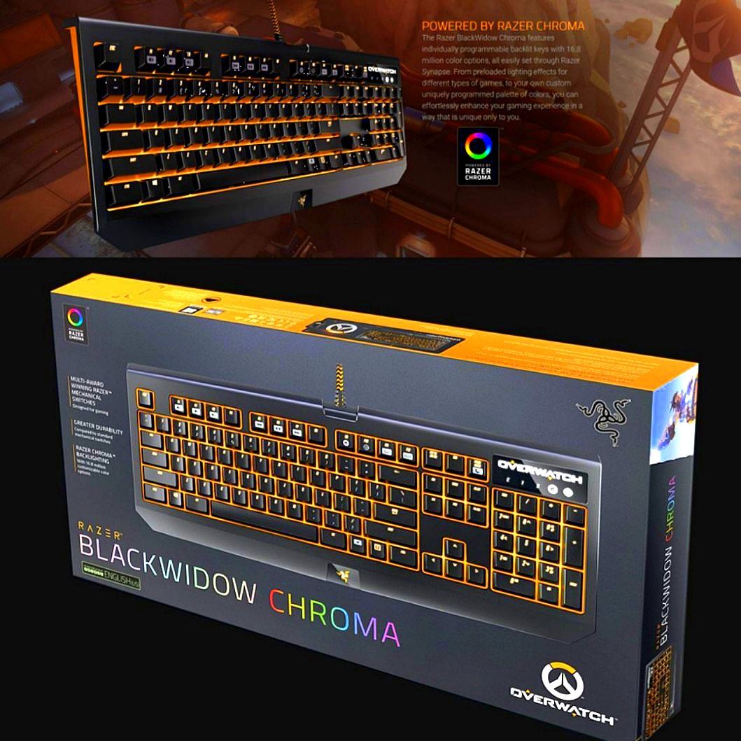 [LAST DAY]Razer Overwatch™️ Mechanical Keyboard Gaming Keyboard [FREE  Shipping]