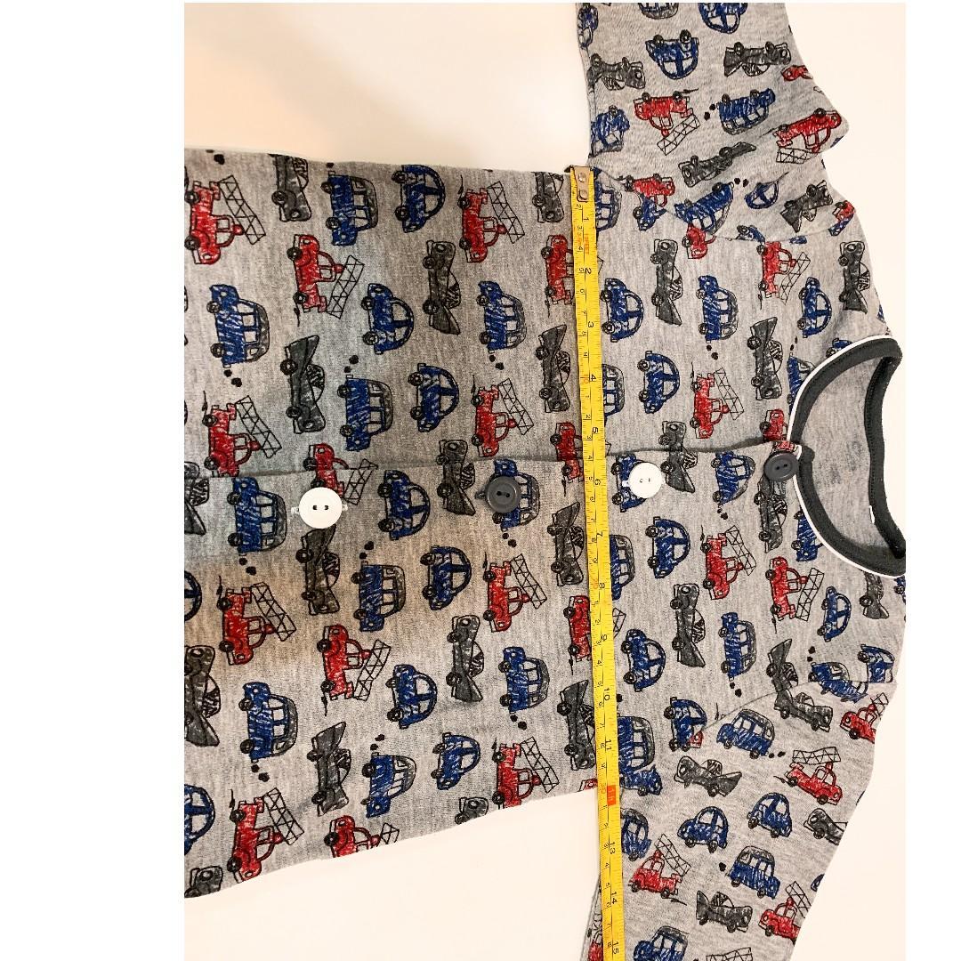 男童  兒童 小童 Kids boy 車仔 card 長袖 衫 褲 一套2件 2 pieces set