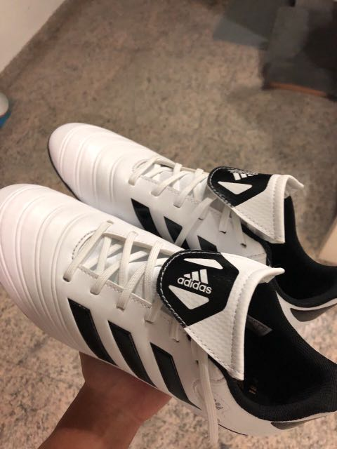 brand new d863b 8cb69 Adidas copa eu 38 2 3 us 6 uk5.5 WHITE, Women s Fashion, Shoes, Others on  Carousell