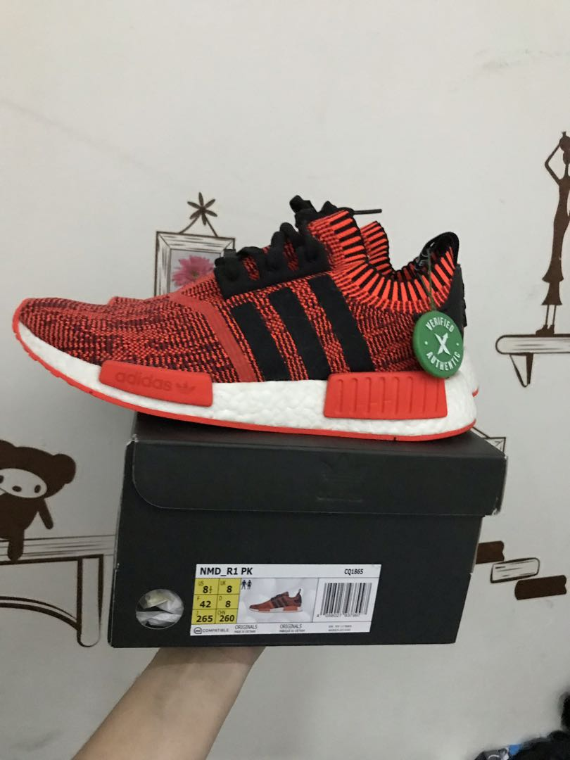 Adidas NMD red Apple v. 2 authentic f3fcb0507