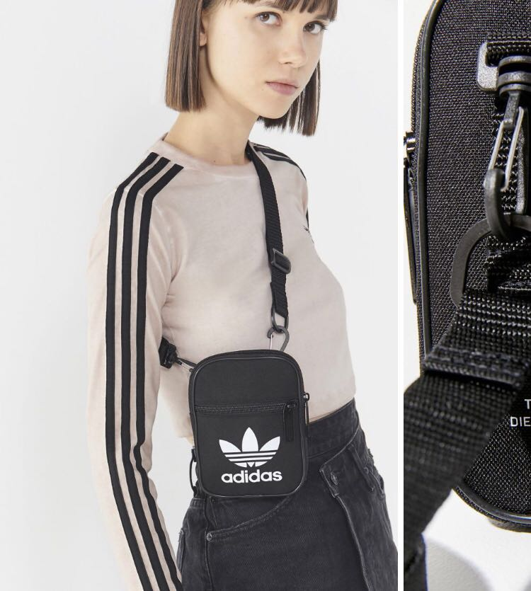 Adidas Originals Trefoil Festival Crossbody Bag 9c1a9d149d08a