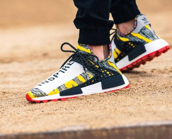 62c12fde415ca Adidas Originals x Pharrell Williams Afro Solar Hu NMD (Core Black Red)