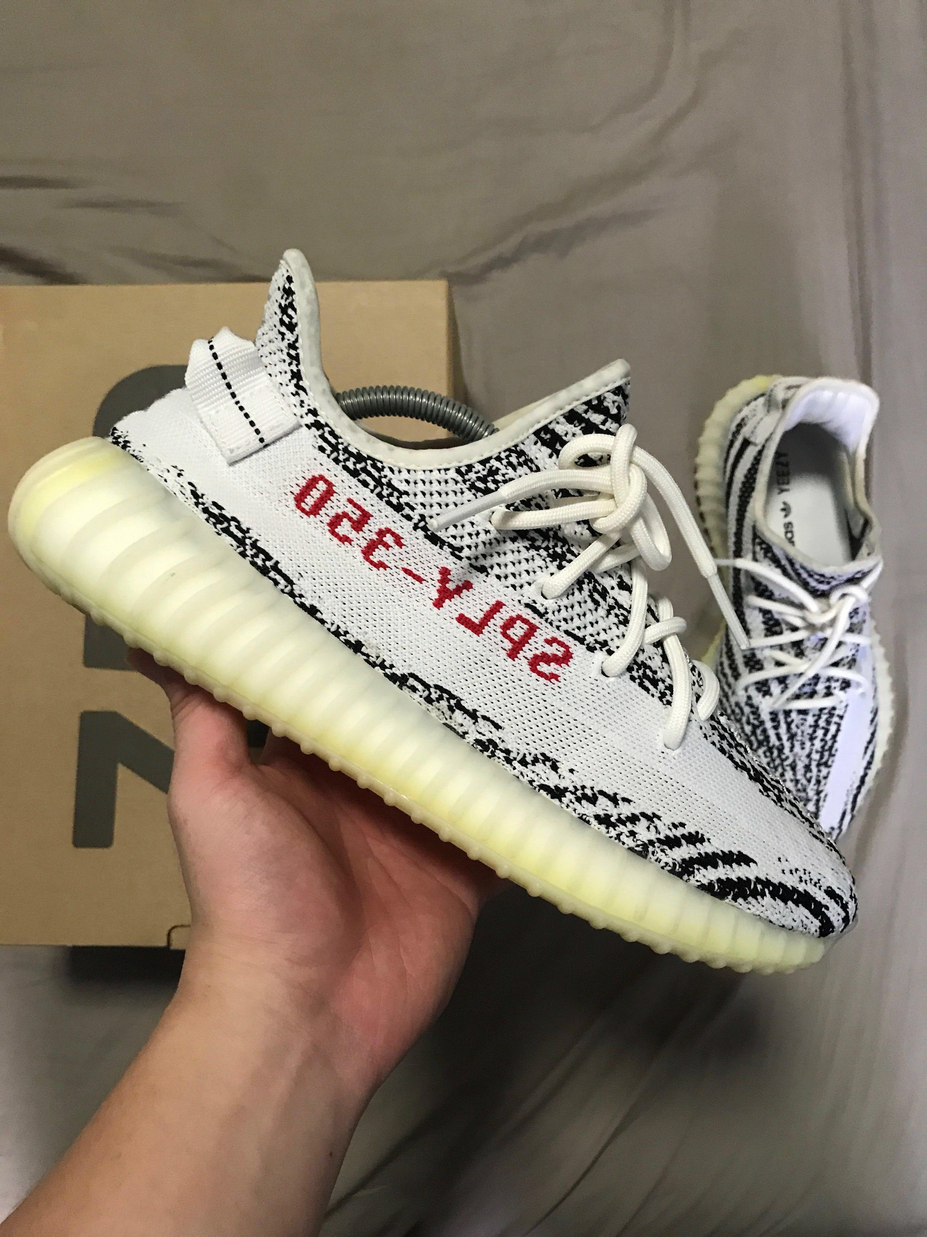 e89d572ecd06c6 Adidas Yeezy Boost 350 - Zebra