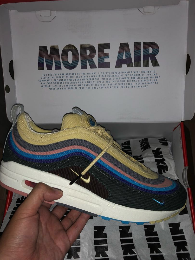 0427349424 Air Max 97/1 Sean Wotherspoon, Men's Fashion, Footwear, Sneakers on ...