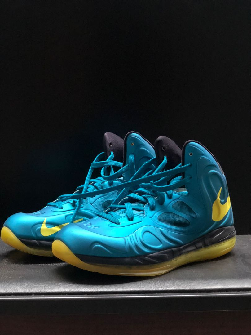7368961e0e7 AIR MAX HYPERPOSITE TROPICAL TEAL SONIC YELLOW