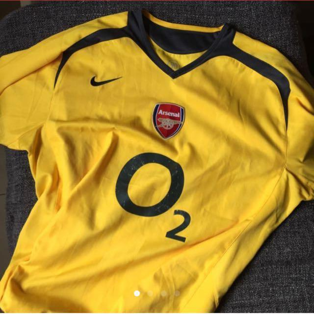 new concept 4cd9e 34147 Arsenal Away Jersey Nike Size XL, Sports, Sports Apparel on ...