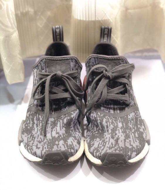 Authentic Adidas Nmd R1 Heather Grey 2cbdcdeb2