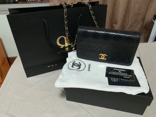 a3eee2b5c664 Authentic Chanel classic bag