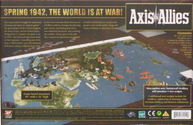 Axis & Allies 1942, 2nd edition
