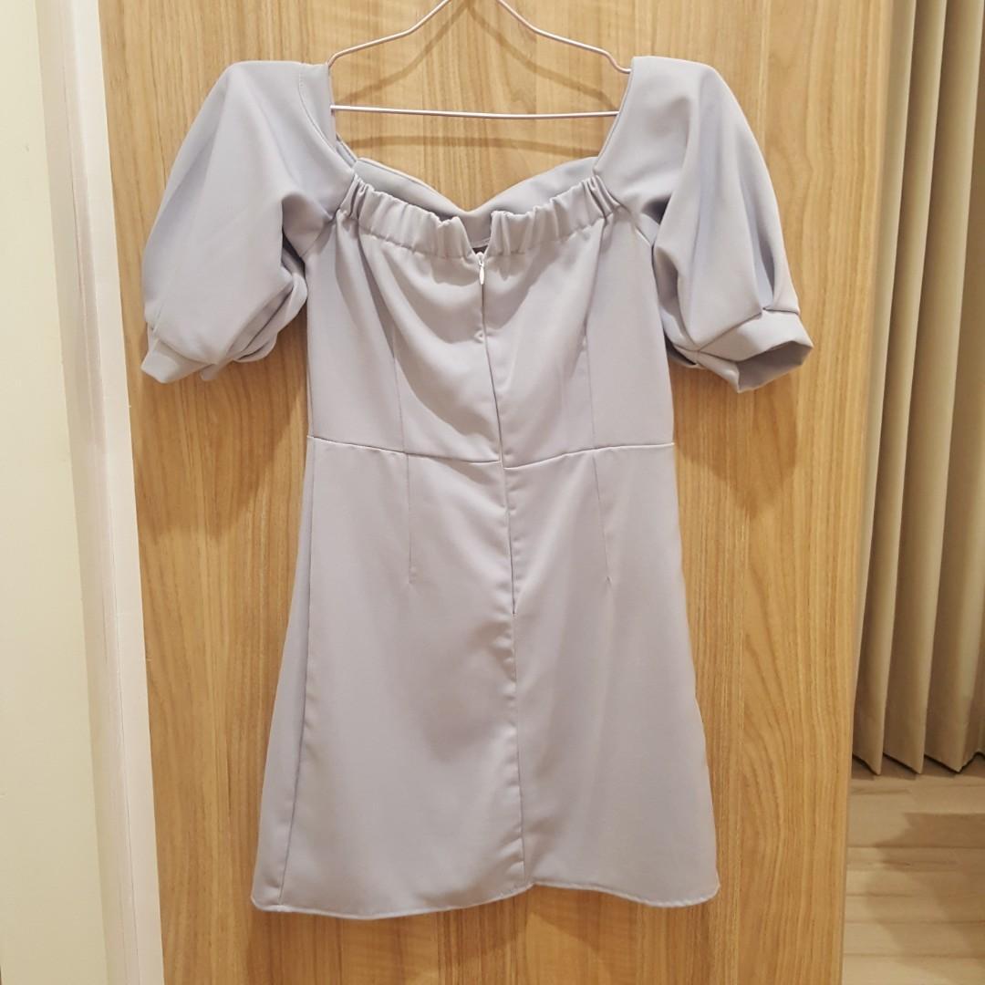 Baby Blue Sabrina Dress