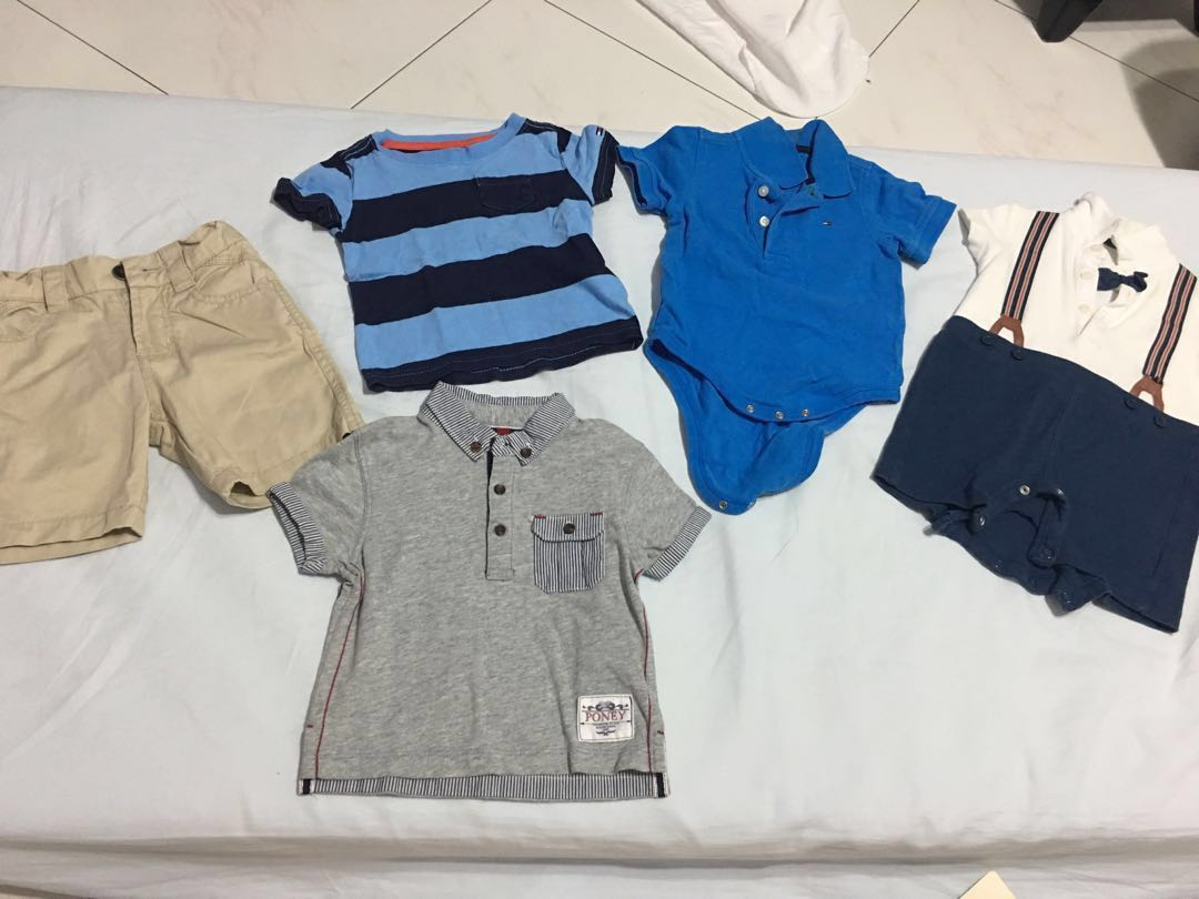 4dad42968 Baby boy clothes - Poney, mothercare, tommy hilfiger, Babies & Kids ...