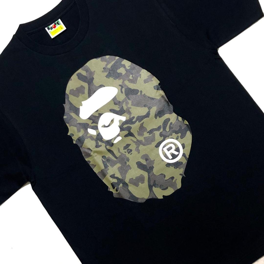 3dc9d00d Bape Desert Camo Big Ape Head Tee, Men's Fashion, Clothes, Tops on ...