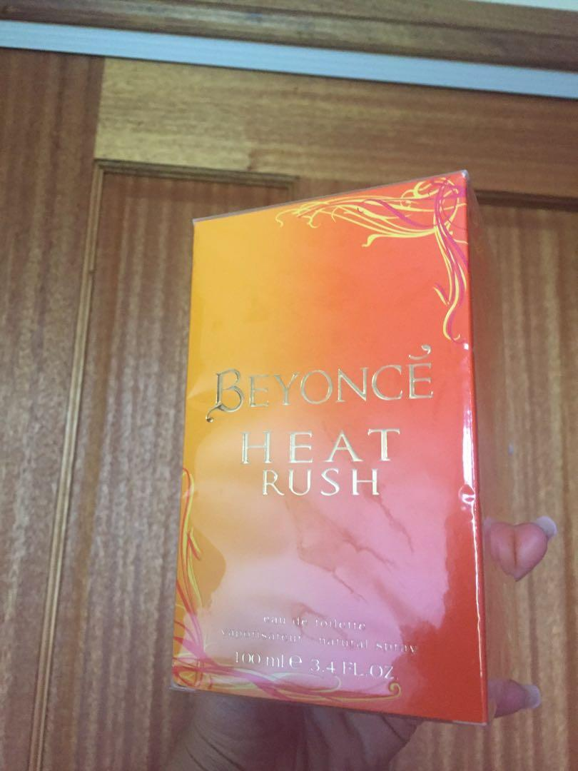 Beyoncé fragrances perfume heat rush